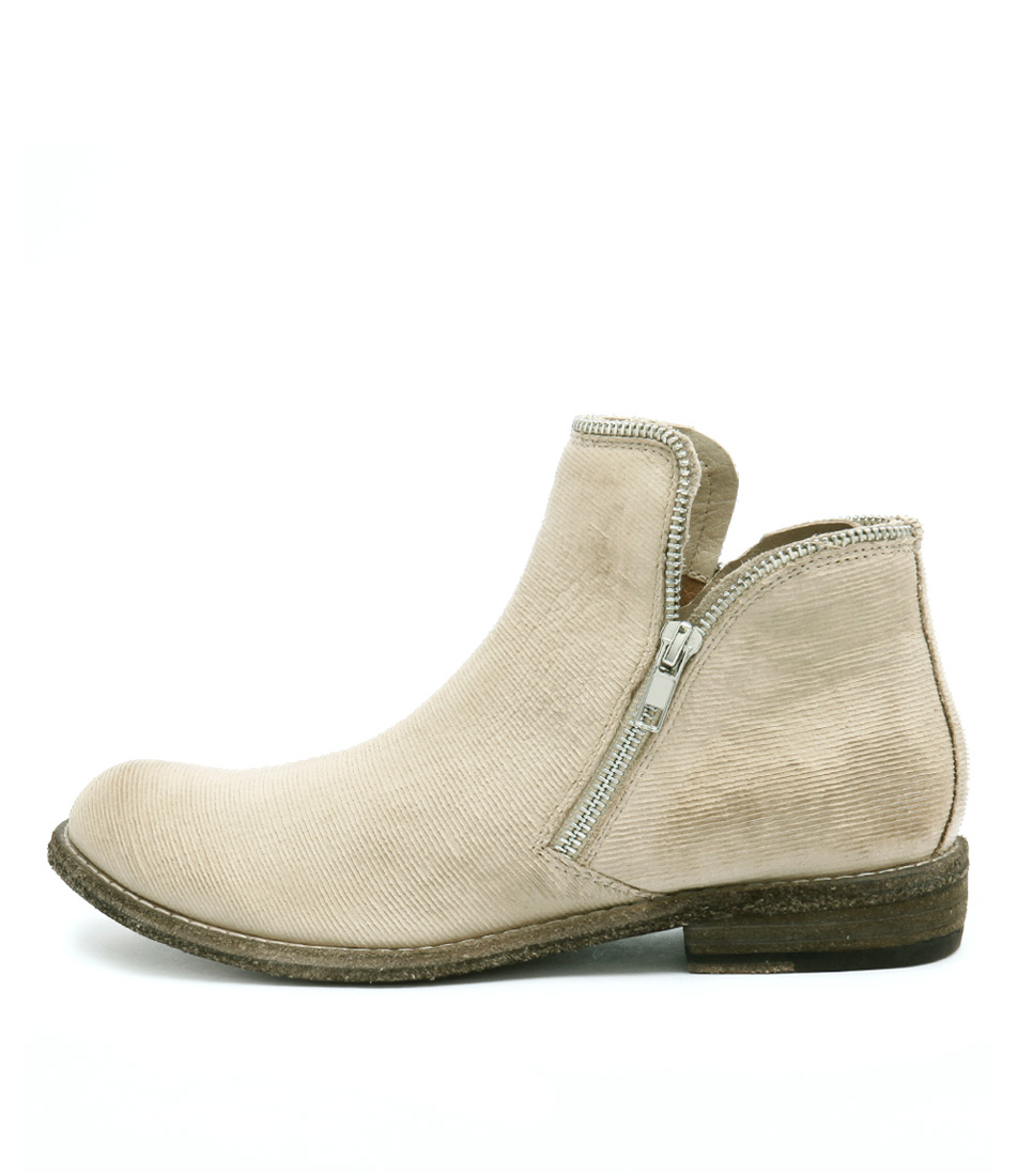 Silent D Cappa Beige Casual Ankle Boots
