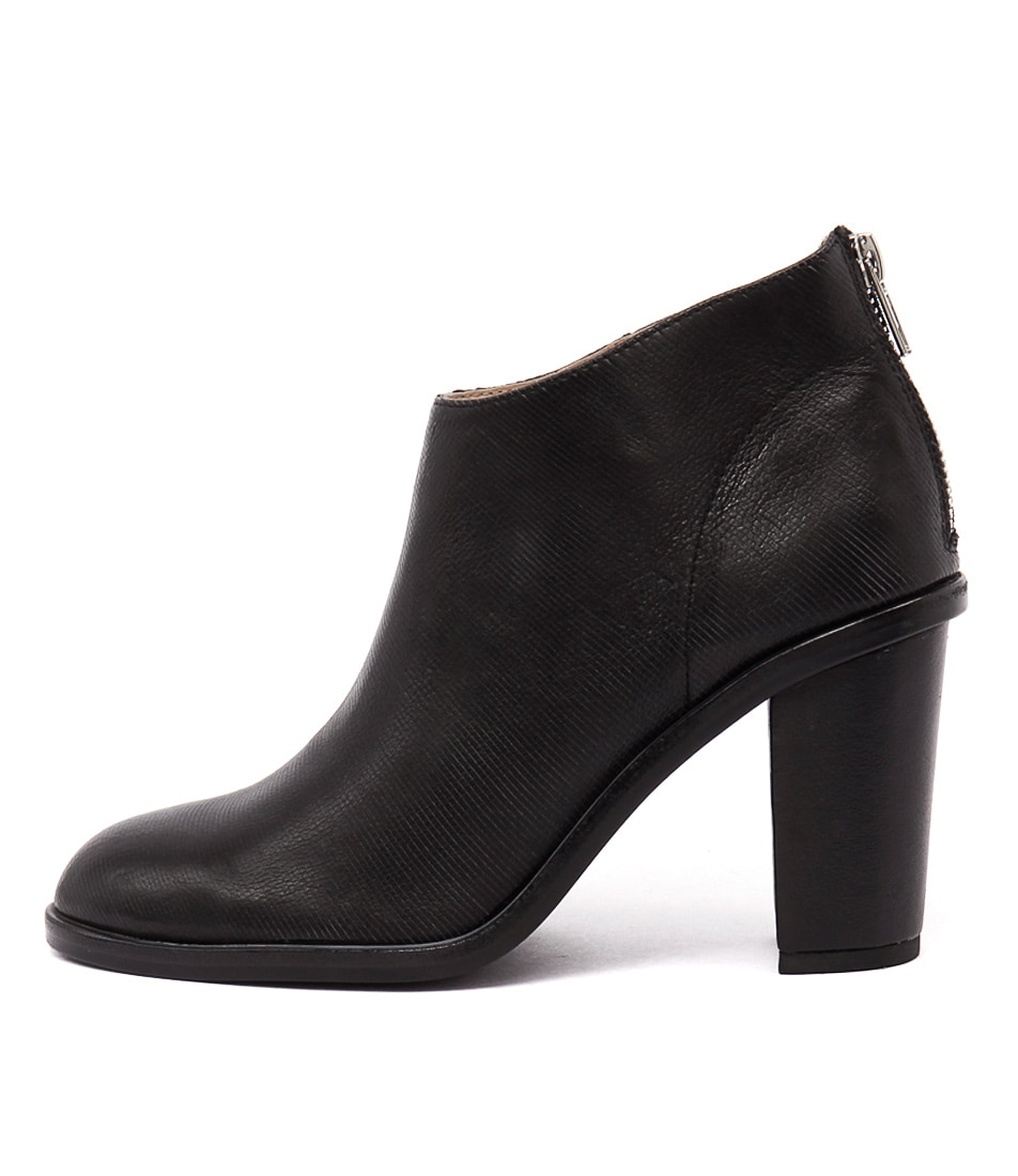 Silent D Digby Black Casual Ankle Boots