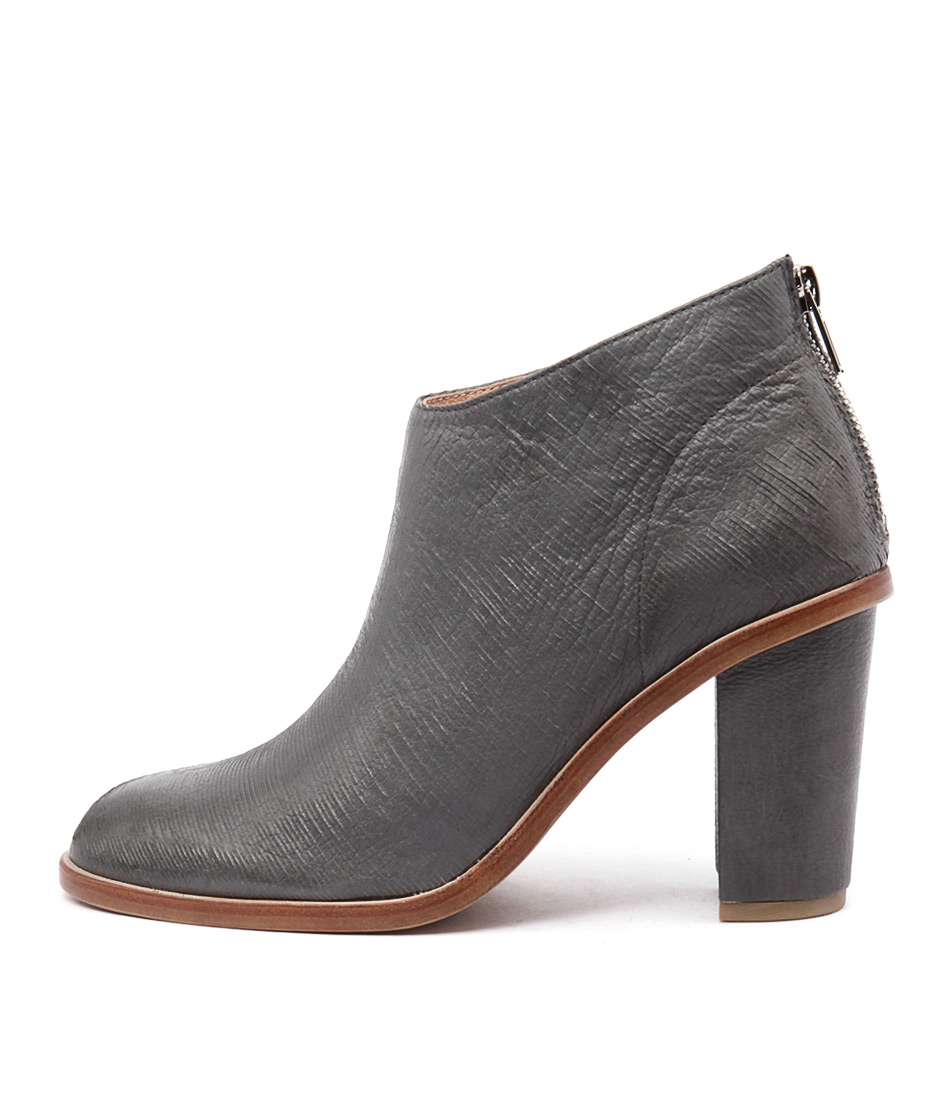 Silent D Digby Dark Grey Casual Ankle Boots