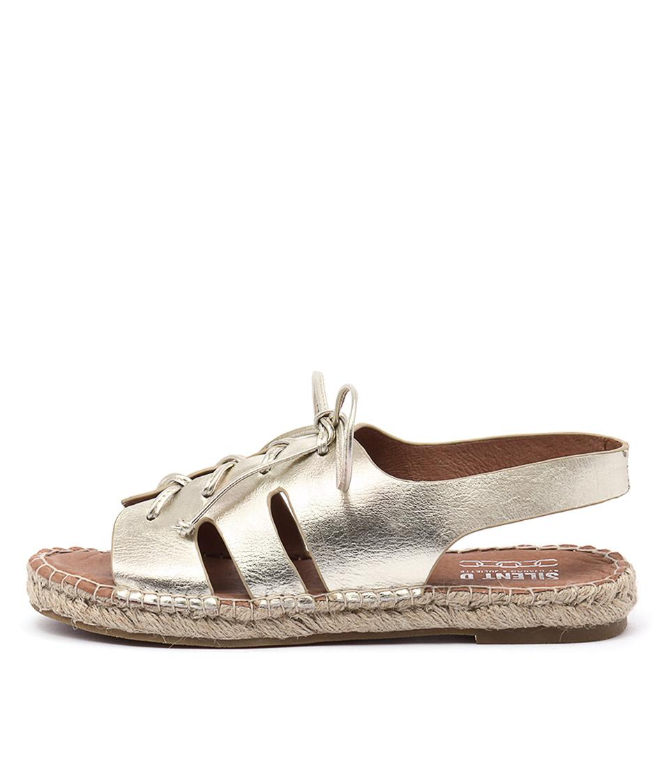 Silent D Elwood Pale Gold Sandals