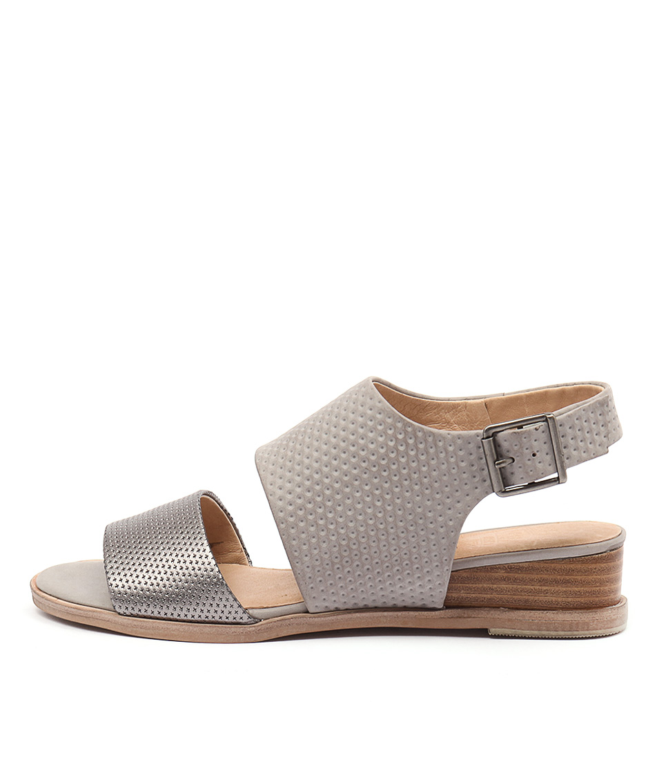 Silent D Gling Pewter Misty Sandals
