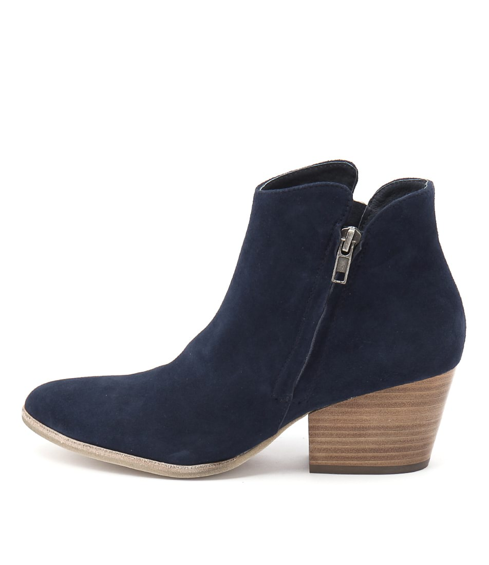 Buy Silent D Agabi Navy Ankle Boots online with free shipping