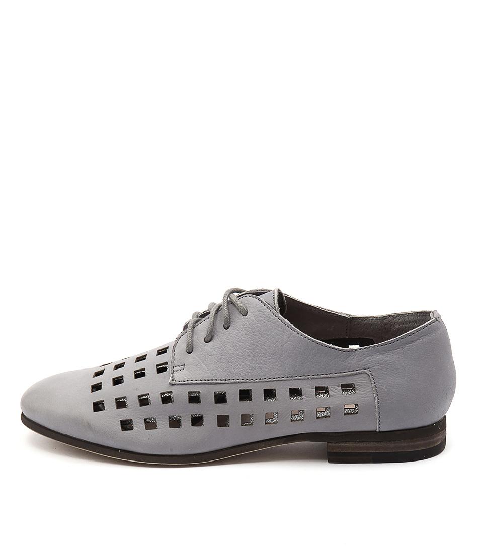 Silent D Clarke Grey Grey Flat Shoes