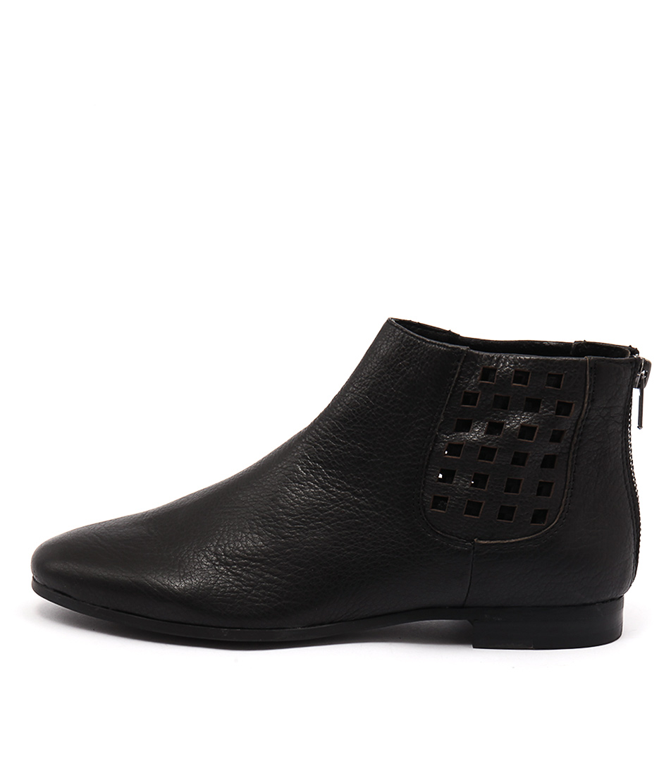 Silent D Clayton Black Black Casual Ankle Boots