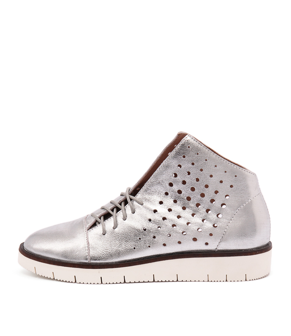Silent D Gola Silver Sneakers