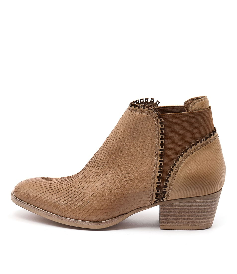 Silent D Ikka Tan Ankle Boots