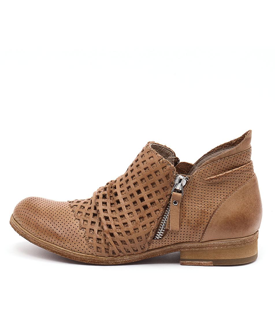 Silent D Lelint Cognac Ankle Boots