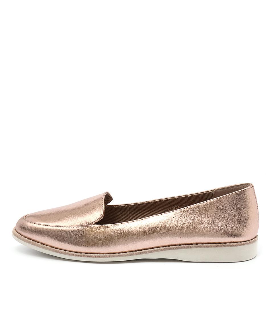 Silent D Karmen Rose Gold Shoes