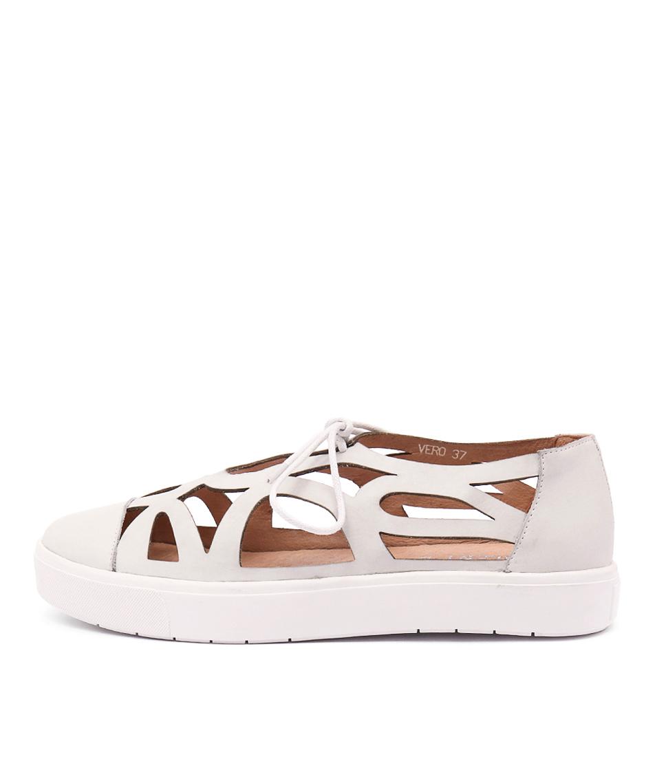 Silent D Vero White Sneakers
