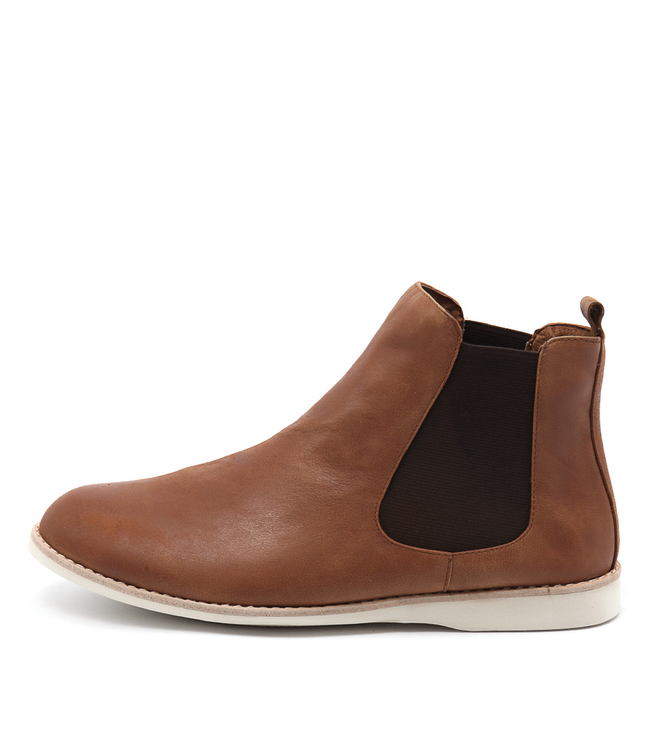 Silent D Nearly Tan Ankle Boots