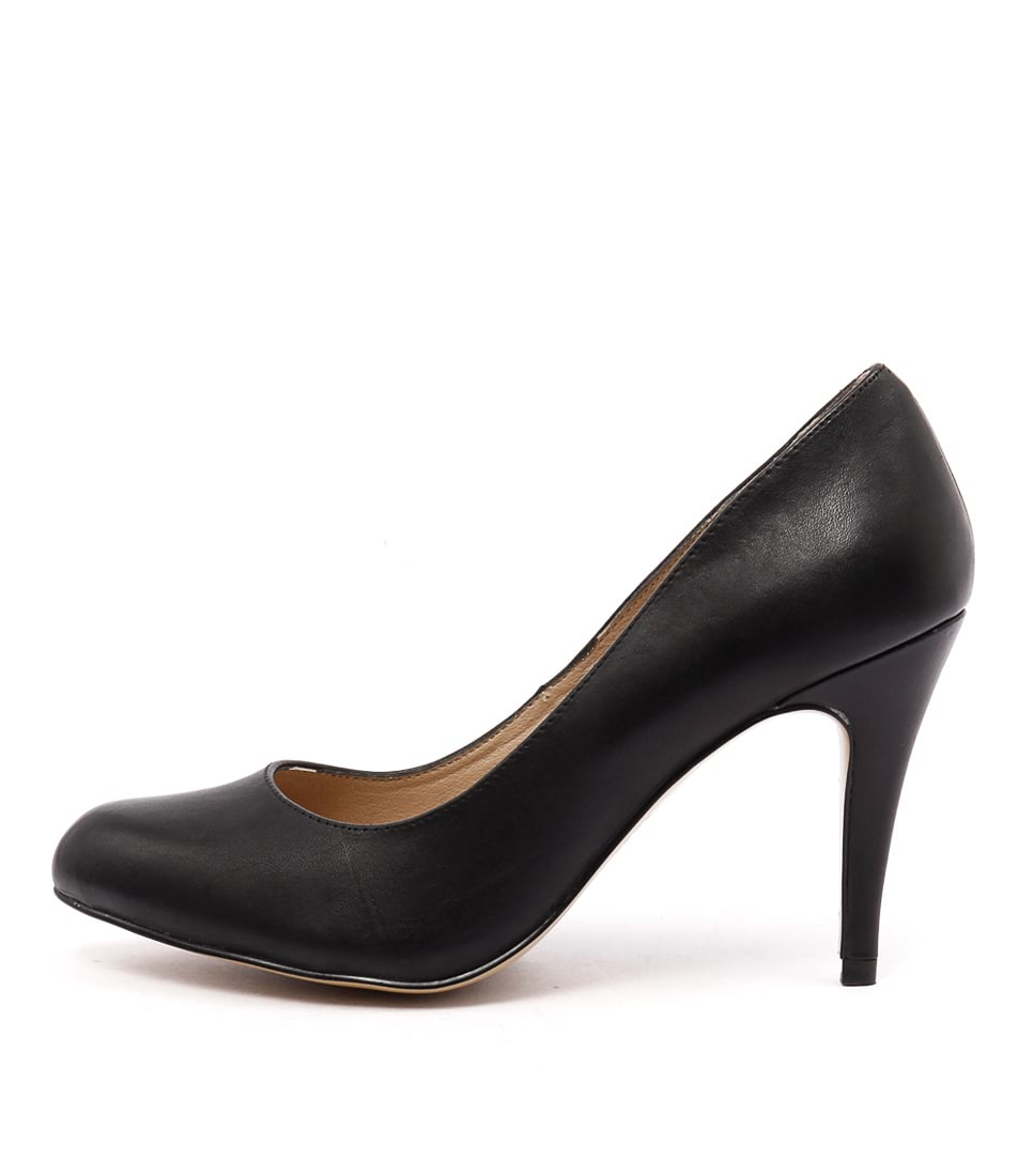 Siren Louis Si Black Dress Heeled Shoes