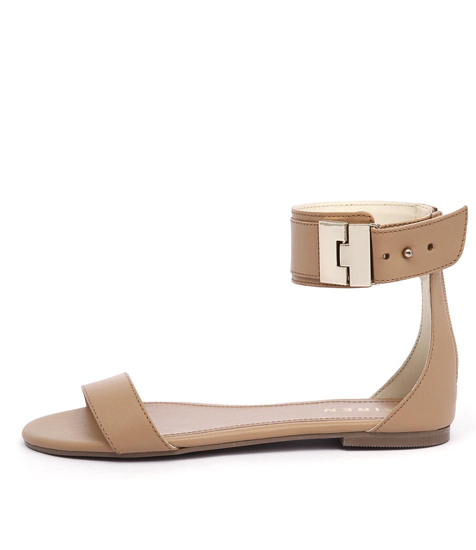 Siren Marlo Light Tan Casual Flat Sandals