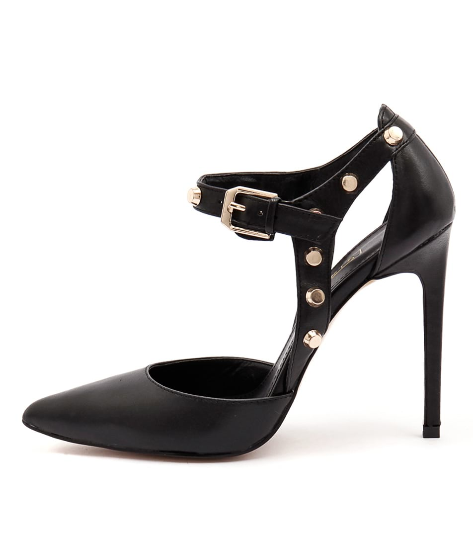 Siren Andrea Si Black Heeled Shoes