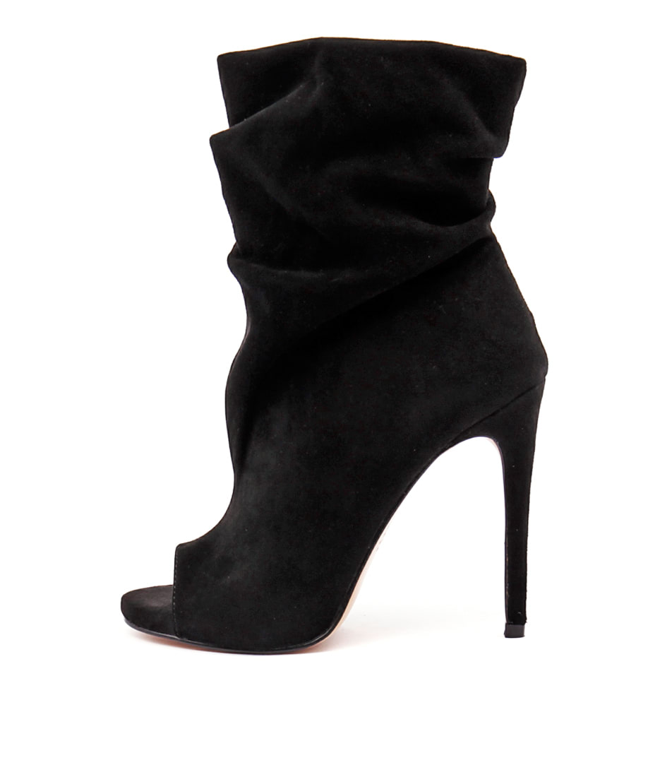 Photo of Siren Davis Black Dress Ankle Boots, shop Siren heels online