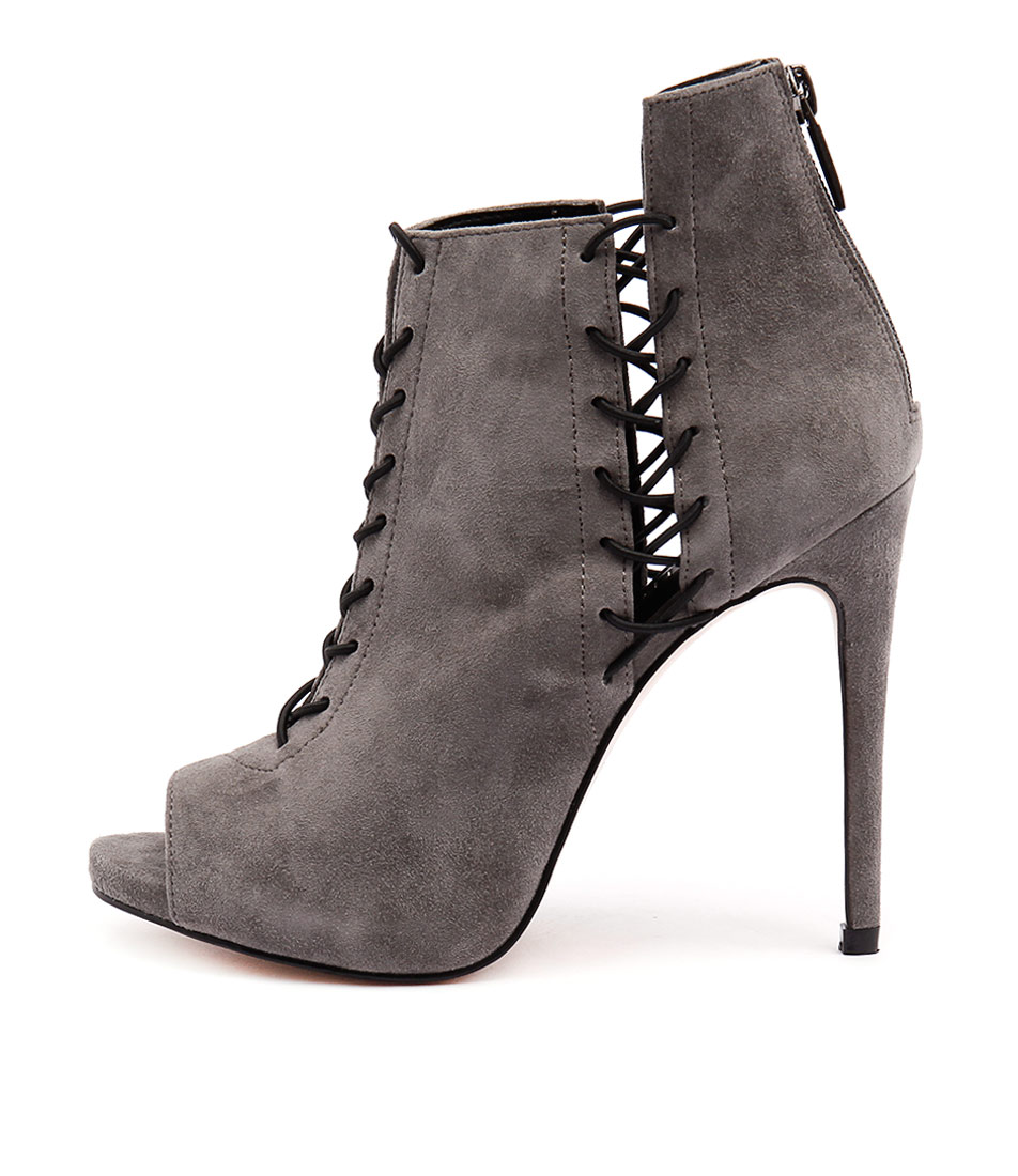 Siren Dawn Slate Ankle Boots