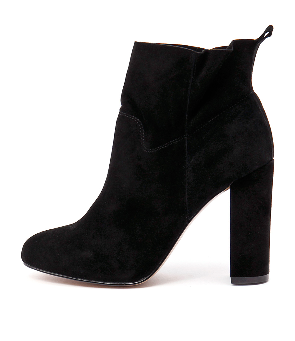 Siren Penelope Black Ankle Boots