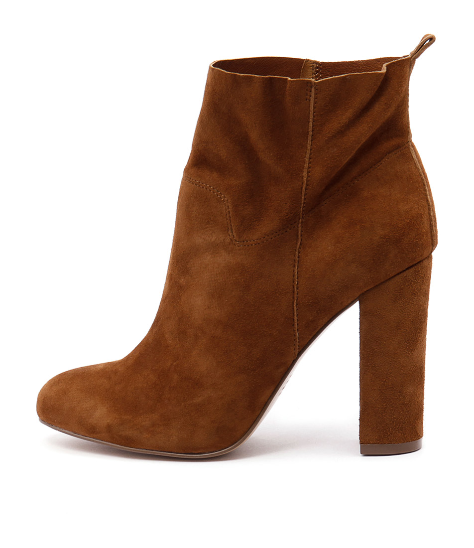 Siren Penelope Tan Ankle Boots