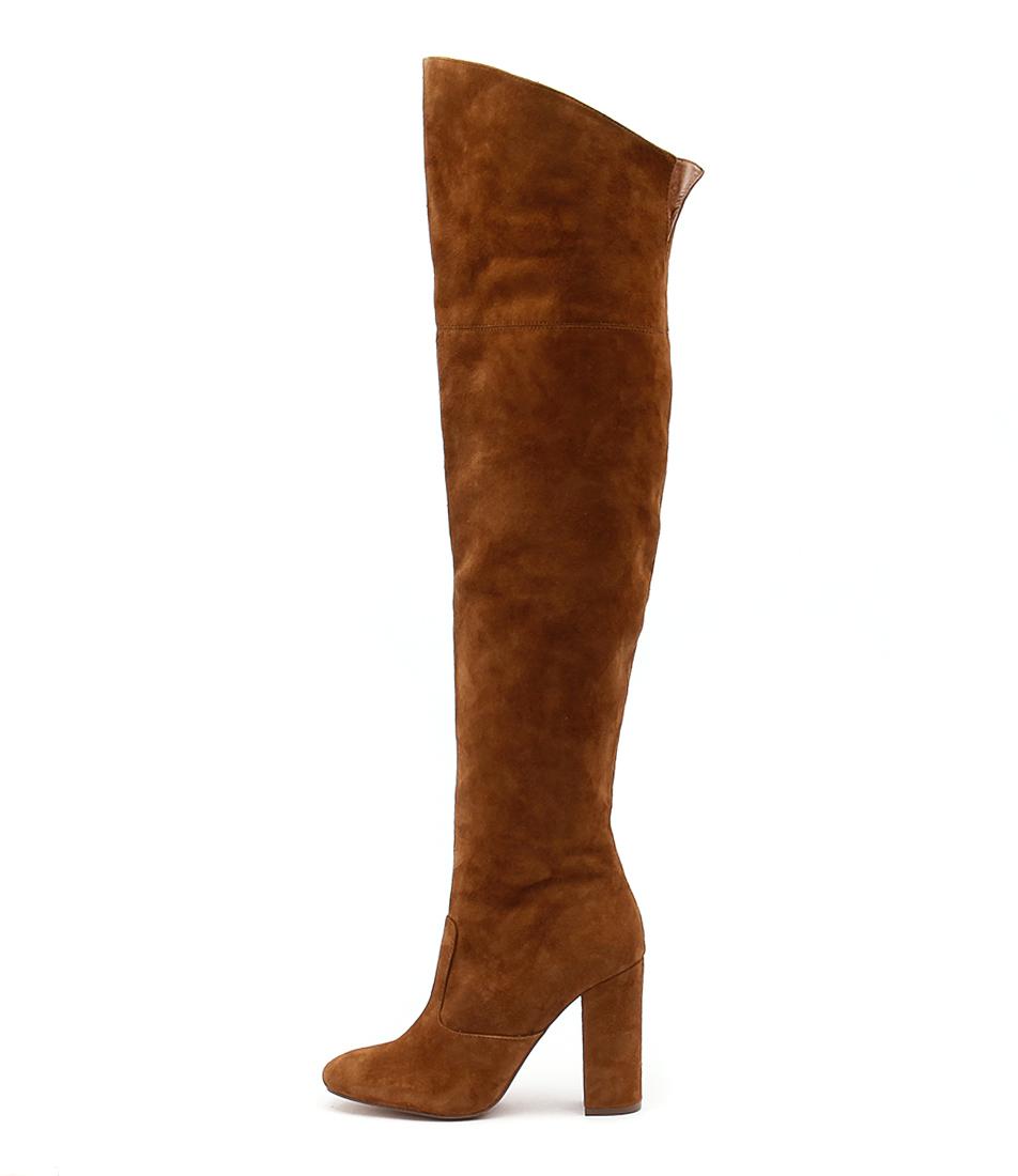 Siren Pippin Tan Dress Long Boots