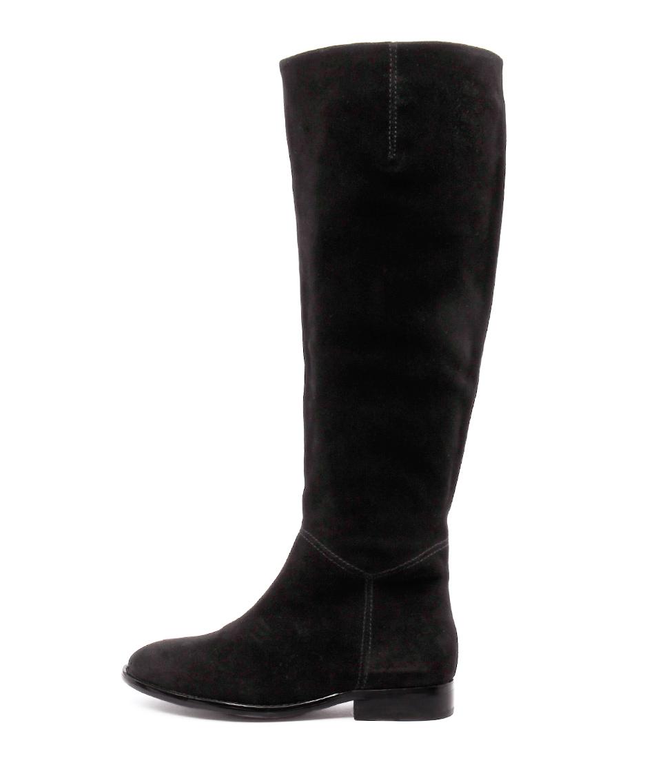 Siren Quinn Black Long Boots