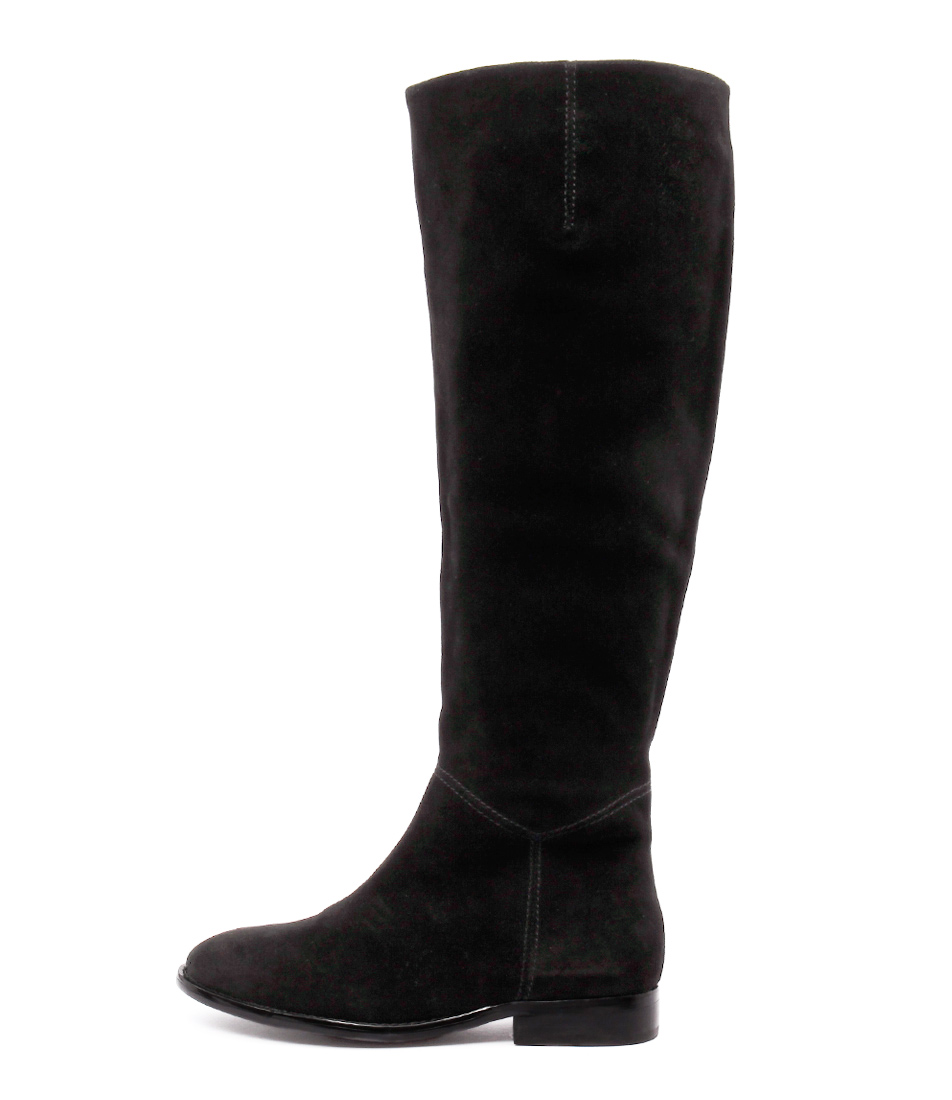 Siren Quinn Black Casual Long Boots
