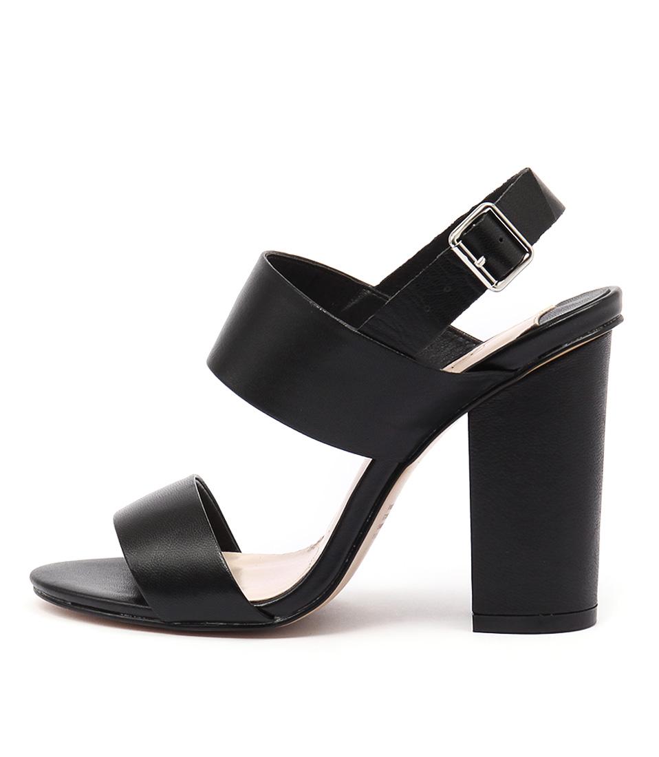 Siren Goddess Black Sandals