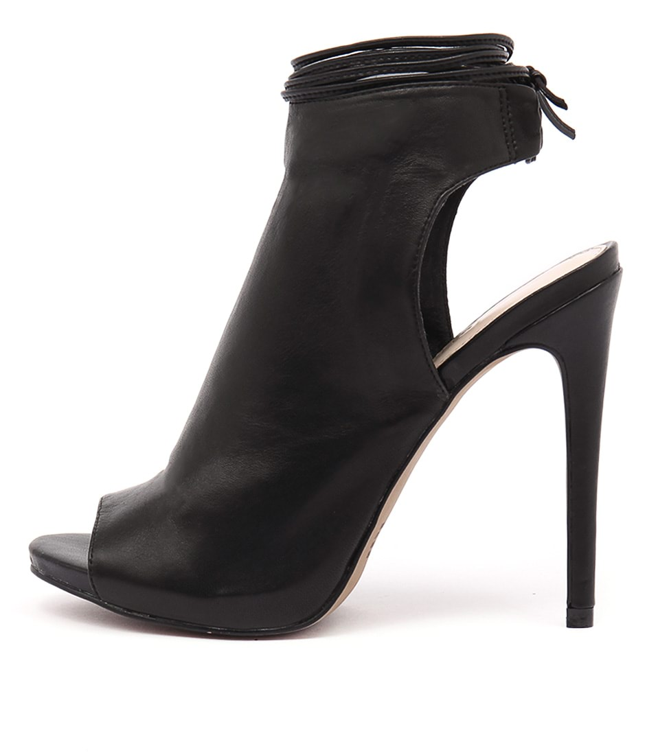 Siren Danika Si Black Dress Heeled Shoes