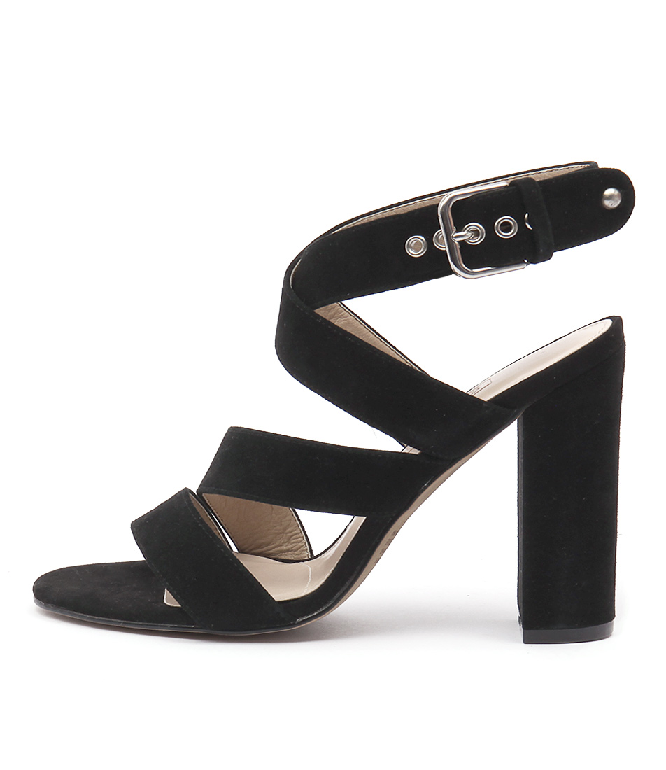 Photo of Siren Kaitlyn Black Sandals, shop Siren heels online