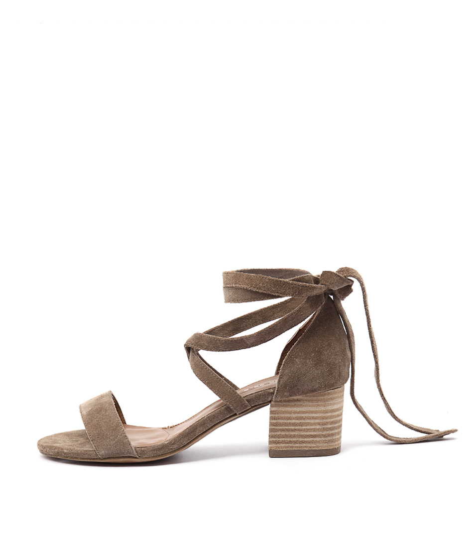Siren Nevada Si Sand Casual Heeled Sandals
