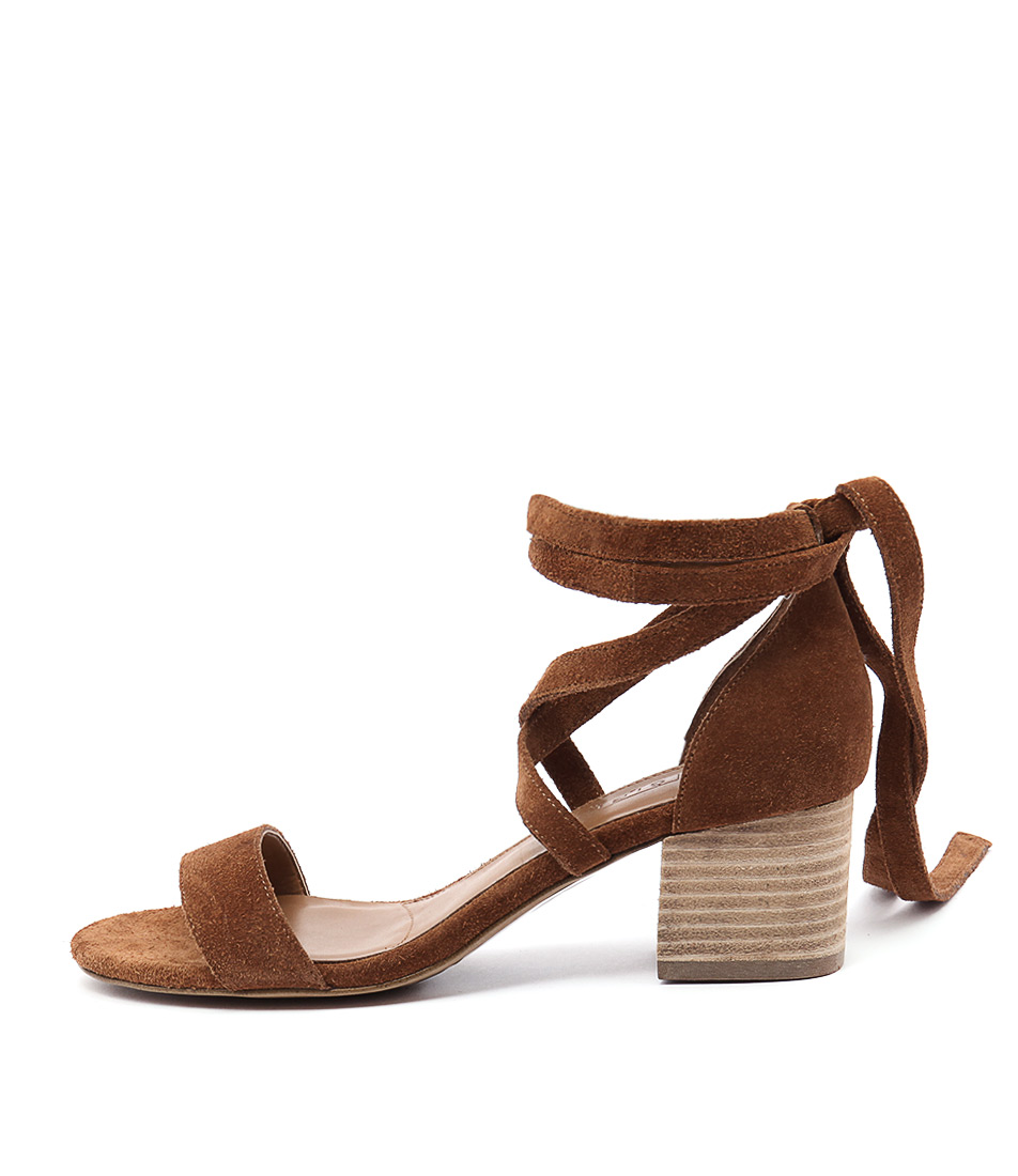 Siren Nevada Si Tan Heeled Sandals