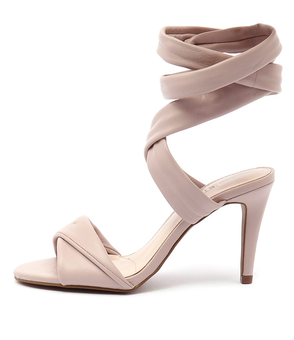 Photo of Siren Charlotte Si Rose Quartz Sandals, shop Siren heels online