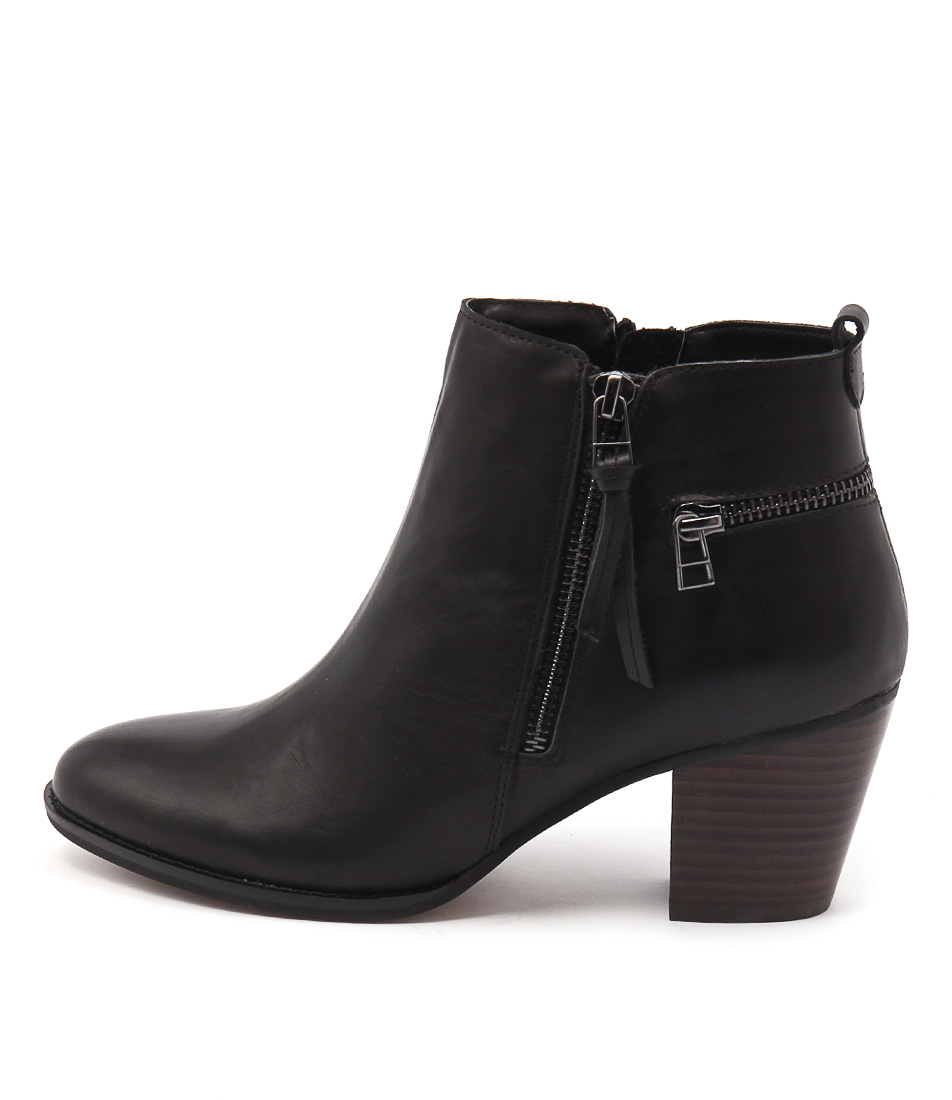 Siren Megan Si Black Ankle Boots