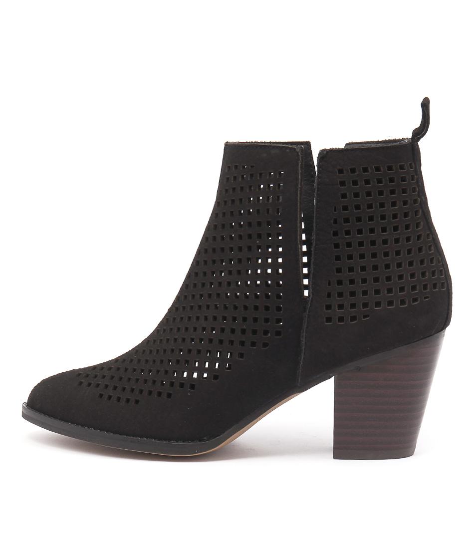 Siren Melanie Si Black Ankle Boots