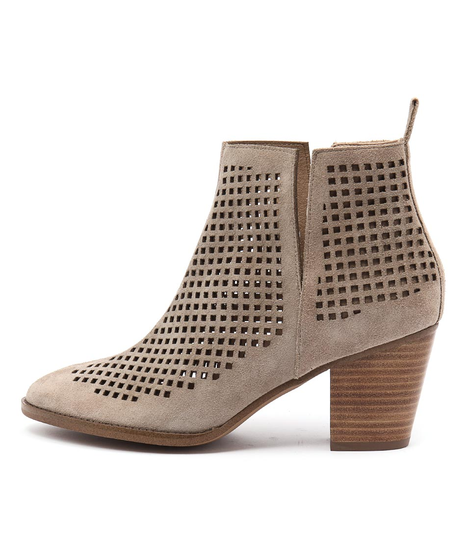 Siren Melanie Si Taupe Casual Ankle Boots