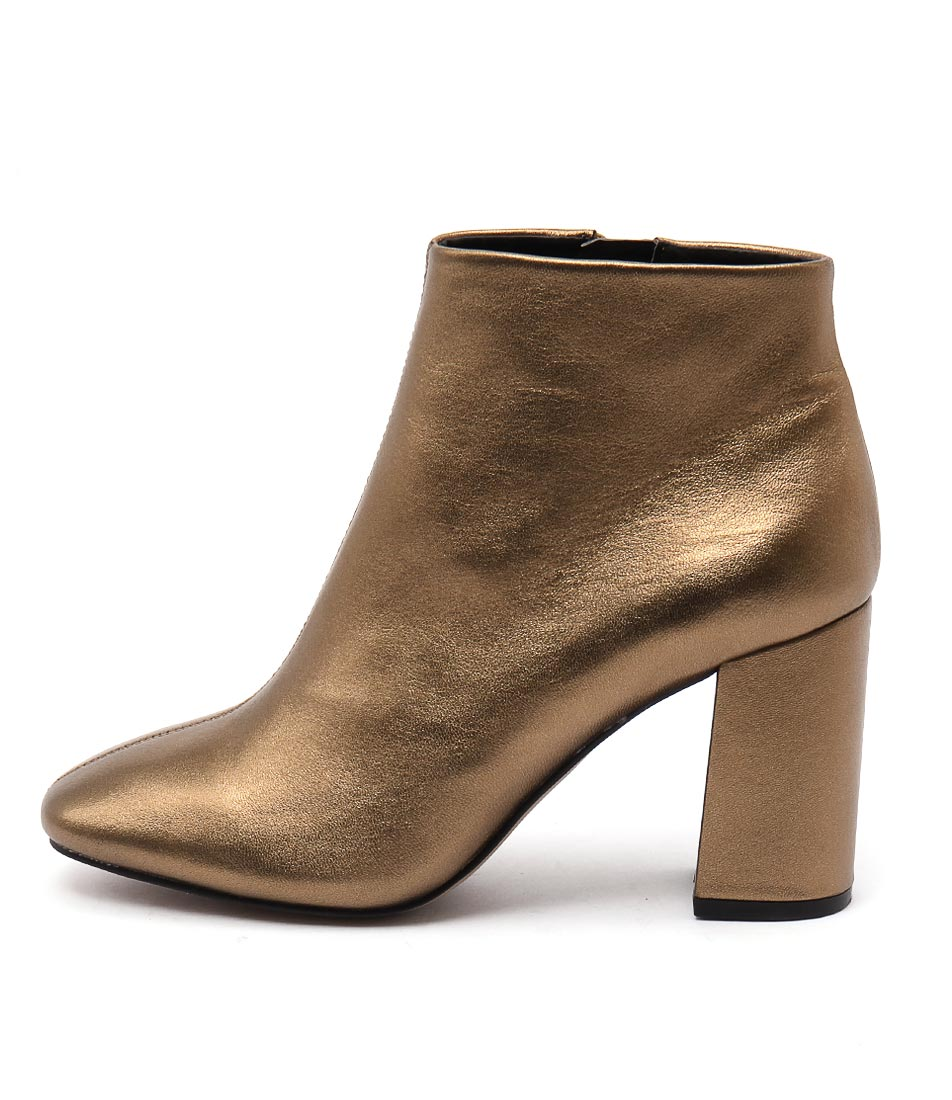 Siren Party Si Bronze Ankle Boots