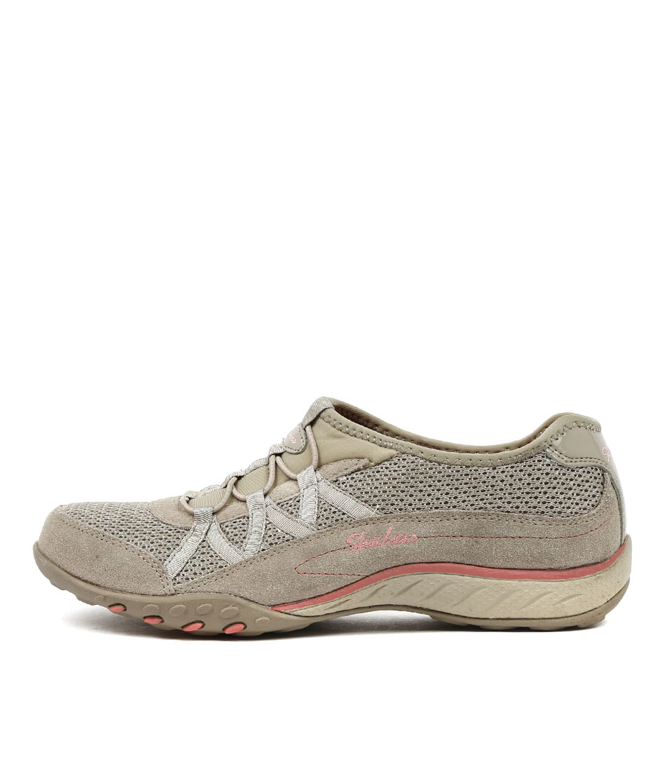 Photo of Skechers 22463 Breathe Easy Relaxation Taupe Sneakers womens shoes