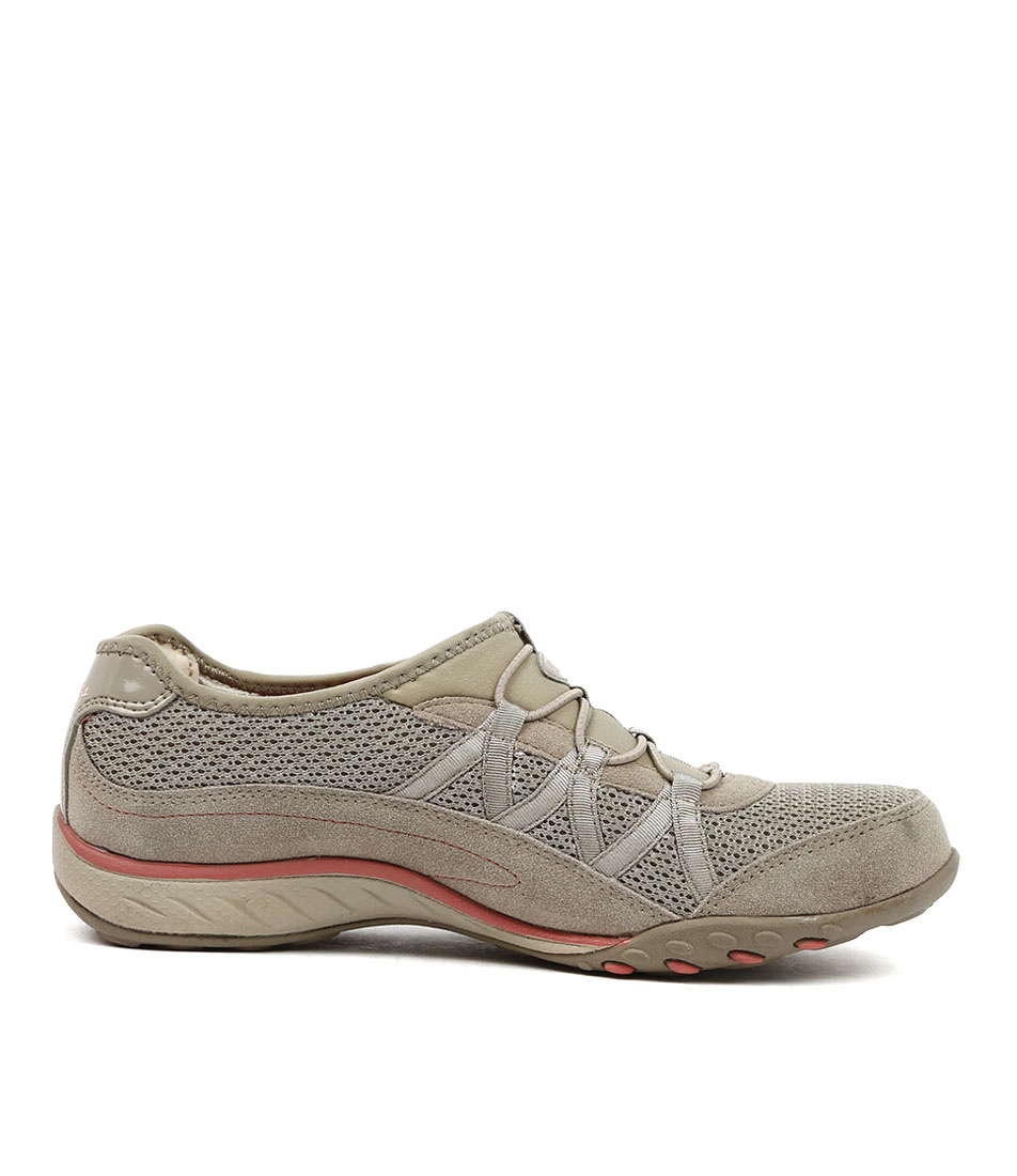 cf8c42b223e7 New Skechers 22463 Breathe Easy Relaxation Taupe Womens Shoes Active ...