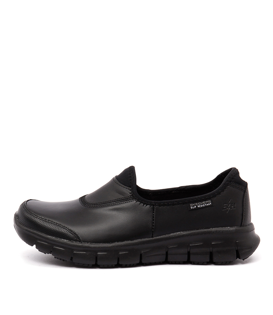 Buy Skechers 76536 Sure Track Black Sneakers online with free shipping
