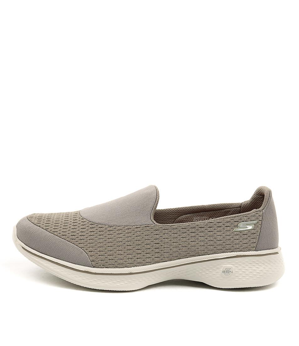 Skechers 14148 Go Walk 4 Pursuit Taupe Sneakers