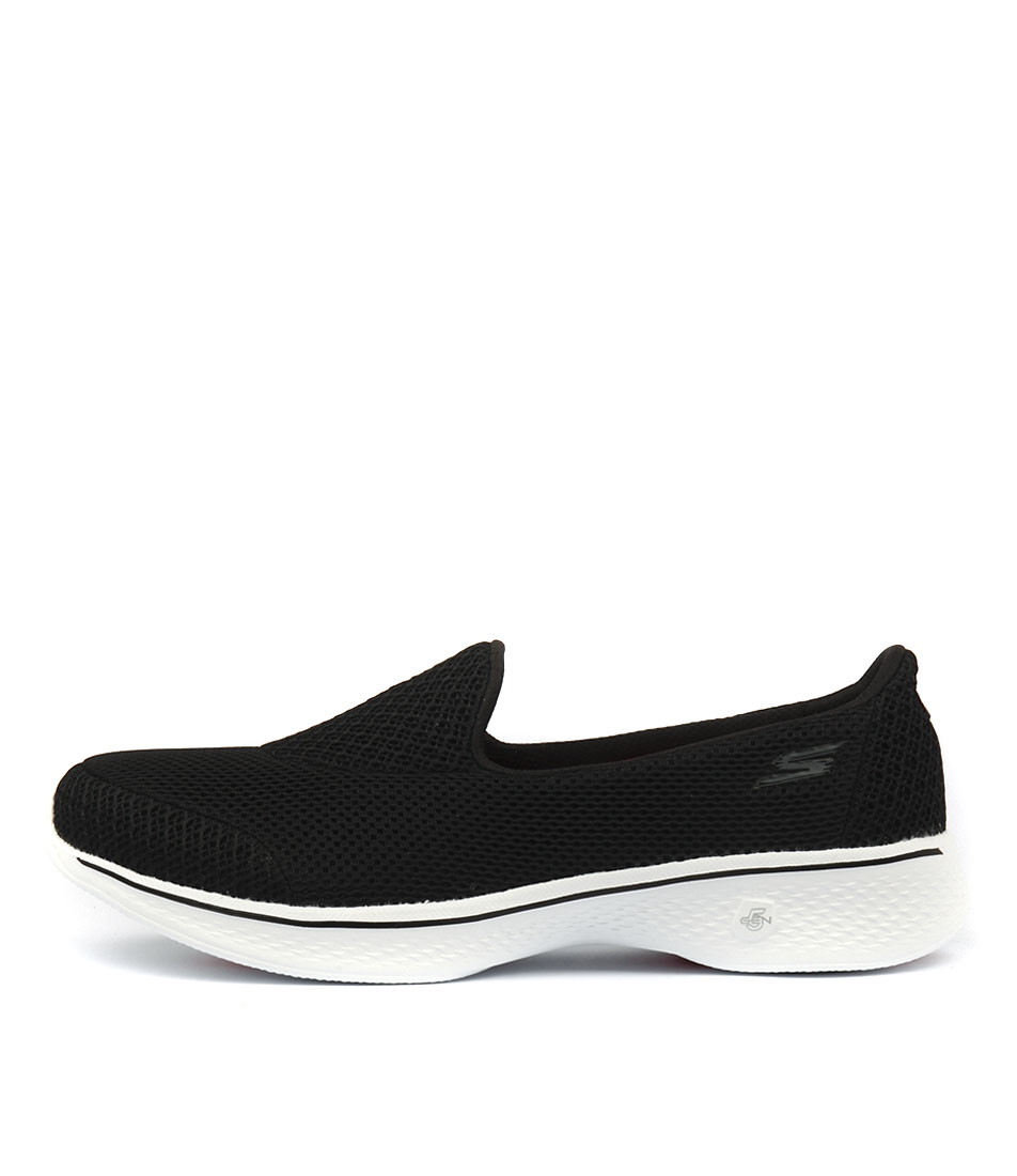 Buy Skechers 14170 Go Walk 4 Propel Black White Sneakers online with free shipping