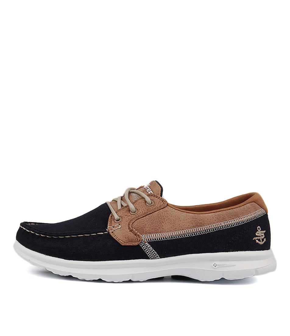 Skechers 14416 Go Step Seashore Navy Flat Shoes