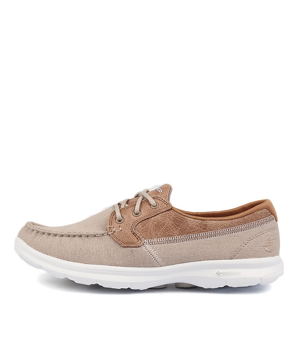 Skechers 14416 Go Step Seashore Natural Flat Shoes