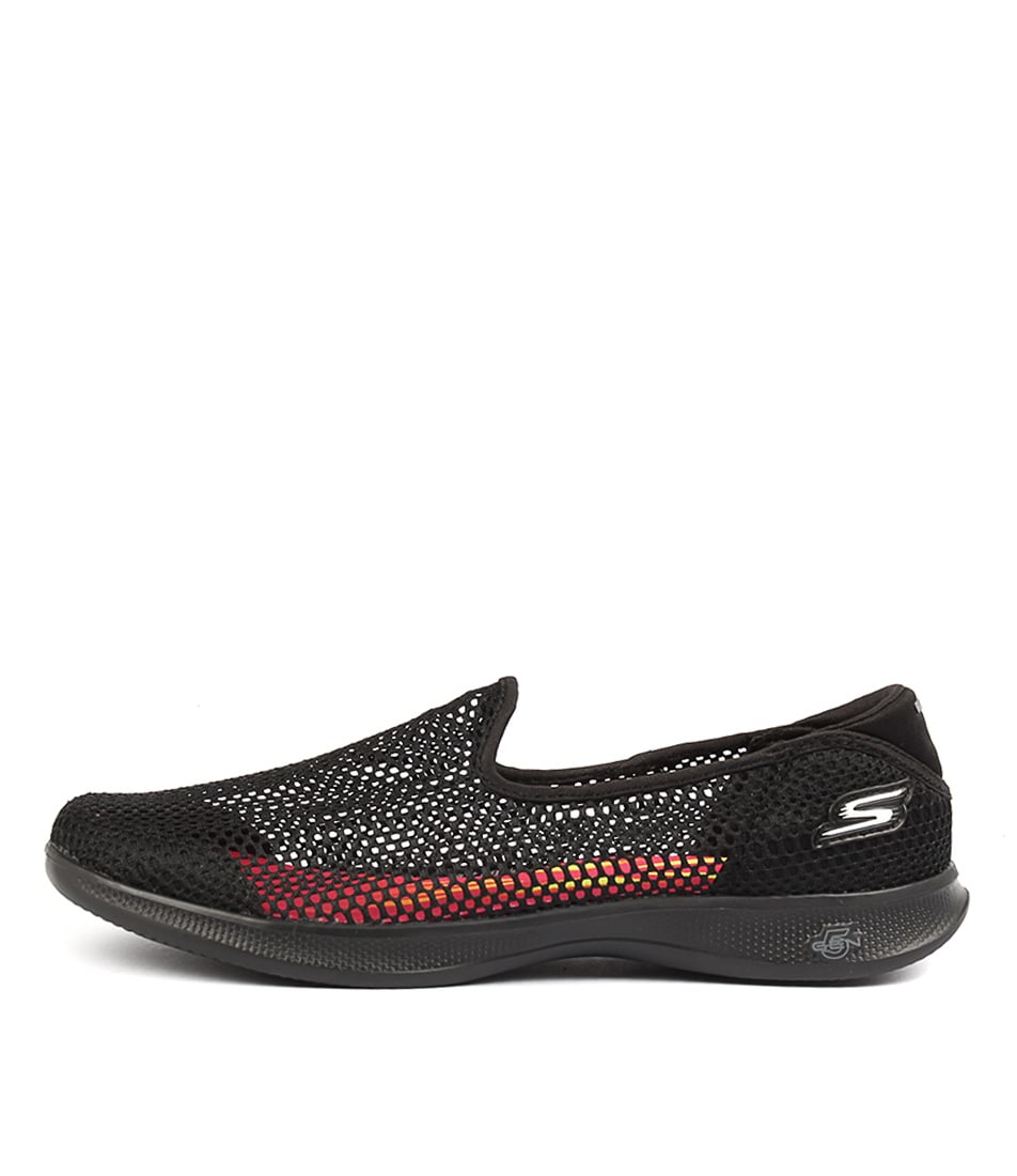 Skechers 14464 Go Step Lite Black Black Casual Flat Shoes