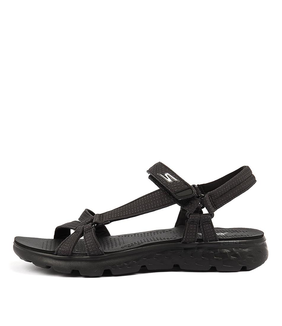 Skechers 14675 On The Go 400 Radiance Black Sandals