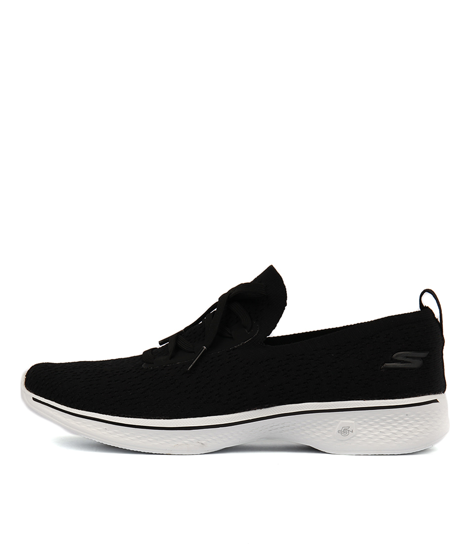 buy Skechers 14917 Go Walk 4 Black White Sneakers shop Skechers Sneakers online