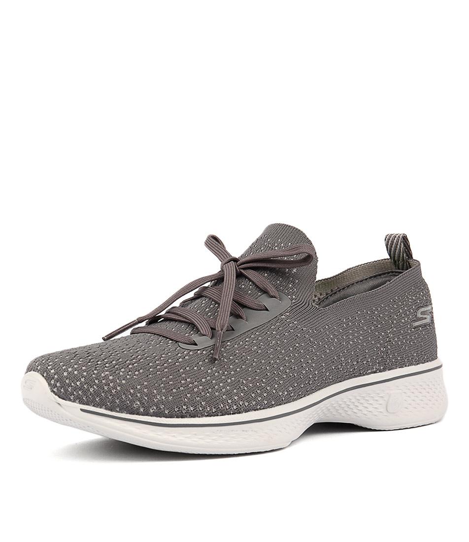 Skechers 14917 Go Walk 4 Charcoal Sneakers
