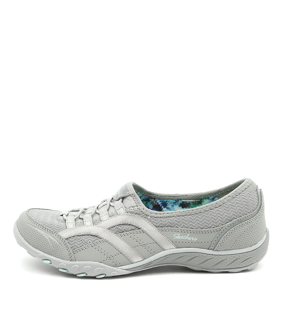 Skechers 23030 Breathe Easy Faithful Grey Sneakers