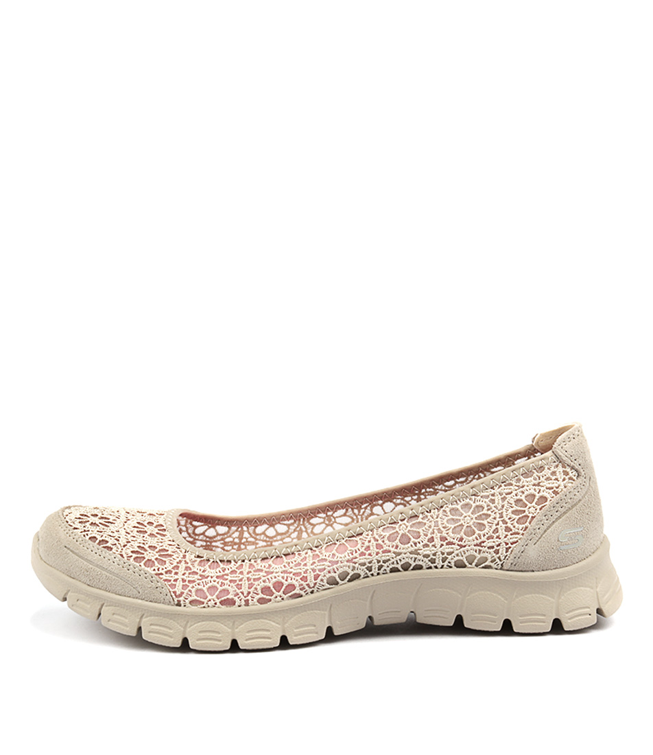 Photo of Skechers 23413 Ez Flex Majesty Natural Flats womens shoes
