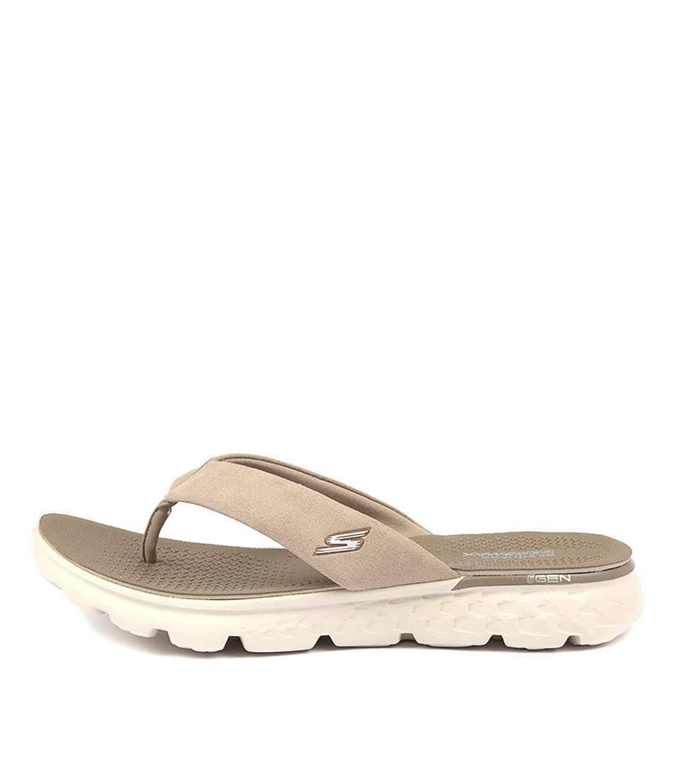 Skechers 14658 On The Go Essence Taupe Sandals Womens Shoes Active Sandals