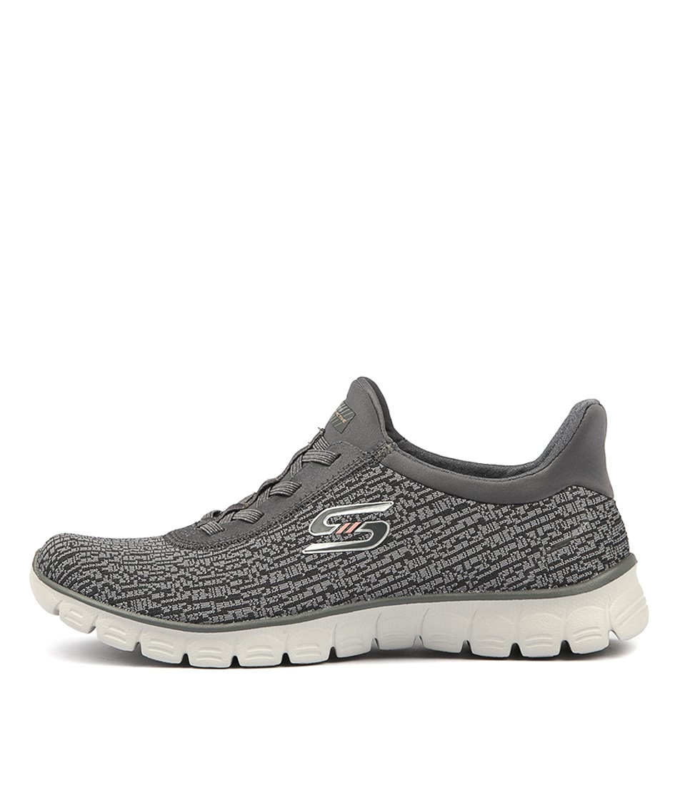 Skechers 23432 Ez Flex Swift N Sly Charcoal Sneakers