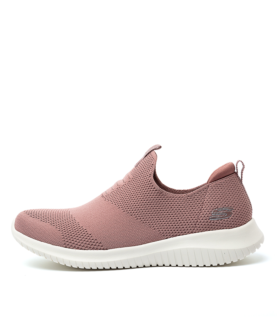 Buy Skechers 12837 Ultra Flex F Mauve Sneakers online with free shipping